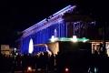 Feierliche Beleuchtung am neuen Gradierwerk Bad Sassendorf (23.11.2019)