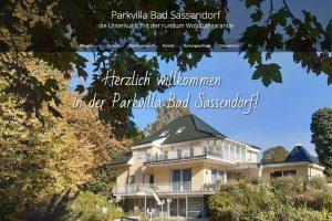 Startseite der Website parkvilla-bad-sassendorf.de (2019)