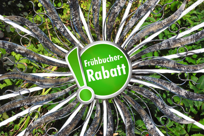 Frühbucher-Rabatt für die Parkvilla Bad Sassendorf