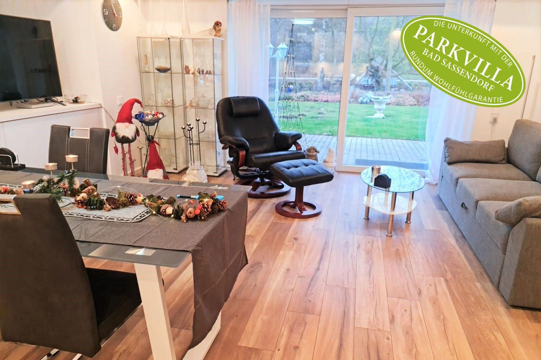 Parkvilla Bad Sassendorf: Wohn-Esszimmer