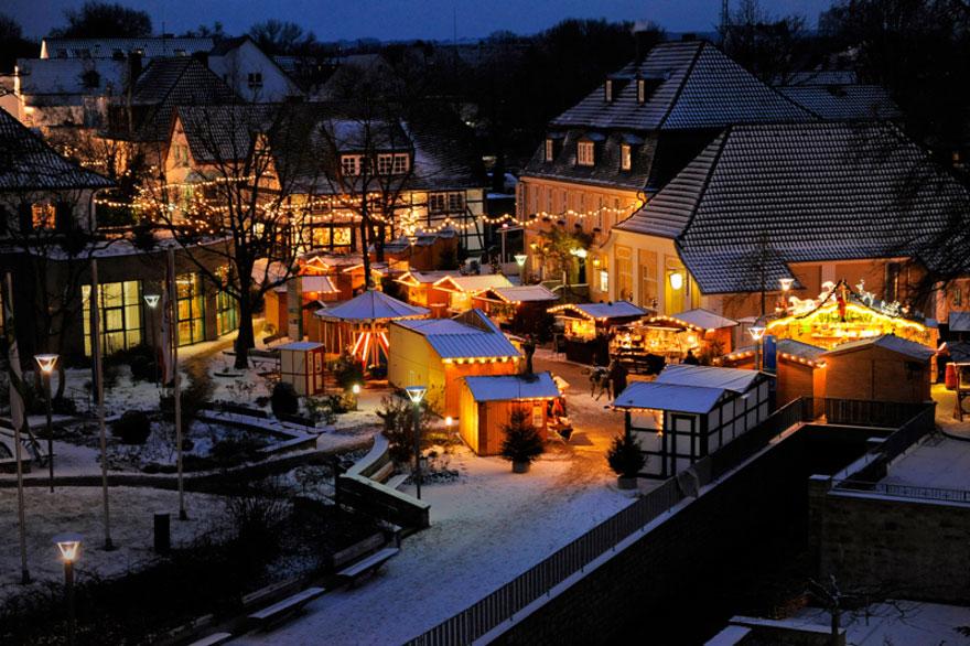 Weihnachtsmarkt in Bad Sassendorf (Quelle: Tagungs- und Kongresszentrum Bad Sassendorf GmbH, Foto: Frank Simon)